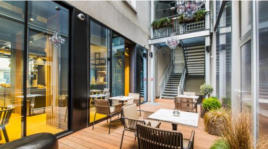 L'hôtel Campanile Rennes Centre Gare a été rénové et agrandi - Photo : Campanile