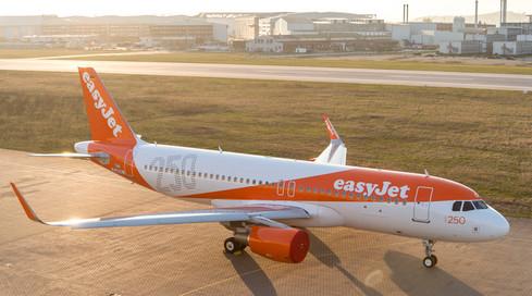 easyJet annonce avoir transporté 20,2 millions de passagers au 3e trimestre 2016 - Photo : easyJet