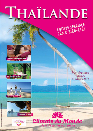 Edition spéciale « Zen & Bien-être » en Thaïlande de Climats du Monde - DR