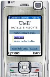 Utell lance un service de réservation d'hôtels via mobile