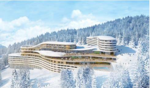 Le village Club Med des Arcs sera ouvert l'hiver mais aussi l'été - Photo : Club Med
