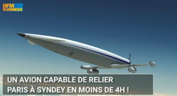 Équipe de ce moteur, les avions pourraient relier Paris et Sydney en moins de 4 heures - DR : BFM Business