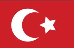 Drapeau de la Turquie - DR : Wikipedia
