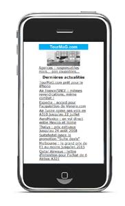 TourMaG.com prêt pour le iPhone