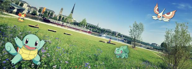 L'Office de Tourisme de Rouen invite les joueurs à une grande chasse aux Pokémon (c) Office de tourisme de Rouen