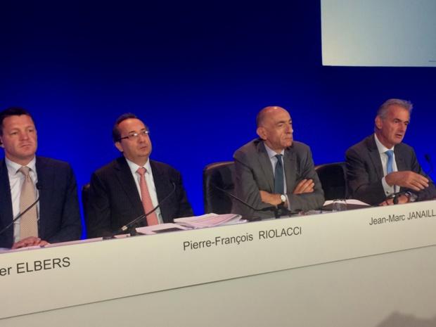 Première présentation des résultats financiers pour le nouveau PDG d'Air France, Jean-Marc Janaillac - DR : DG