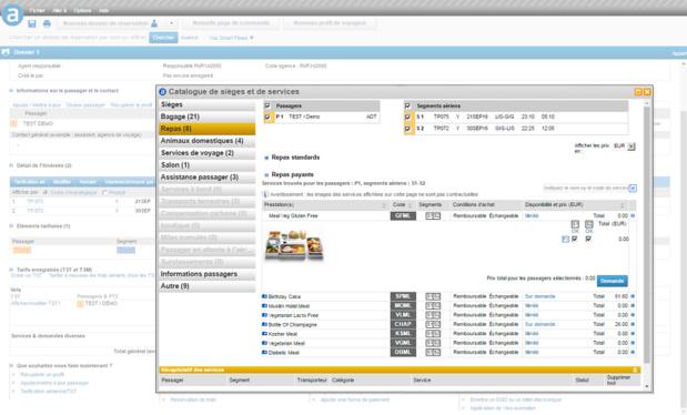 Les conseillers en voyages pourront accéder à la plateforme à tout moment, où qu'ils soient, avec une simple connexion Internet (c) Capture d'écran Amadeus