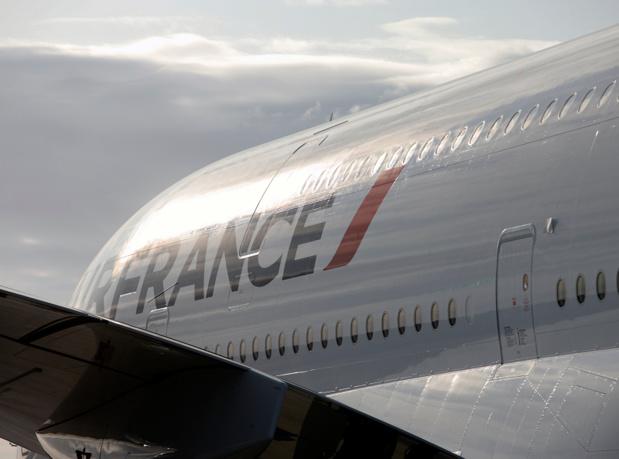Air France prévoit d'assurer vendredi 29 juillet plus de 90 % de ses vols long-courriers, 85 % de ses vols domestiques et 75 % de ses vols moyen-courriers de et vers Paris - CD - Photo ROB FINLAYSON Air France