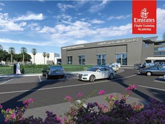 Le centre de formation de pilotes d'Emirates ouvria en octobre 2016. - Photo DR