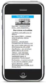 Internet Mobile : 11,3 millions de mobinautes en France