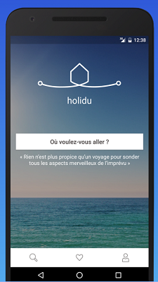 L'application mobile d'Holidu est disponible sur l'Apple Store et Google Plays Store - DR : Holidu