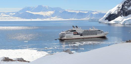 La commission des agences de voyages augmente jusqu'au 17 septembre 2016 sur une sélection de 10 départs de Ponant en Antarctique - Photo : Ponant