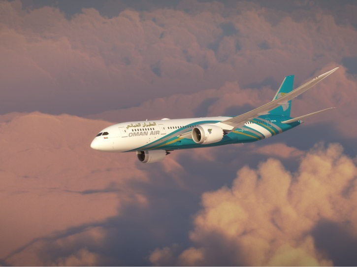 Oman Air desservira Paris CDG en vol quotidien en Boeing 787-Dreamliner - DR : Oman Air