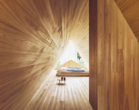 Le Yoshino Cedar House a été construit via la filiale Samara d'AirBnb - Photo : Samara/AirBnb