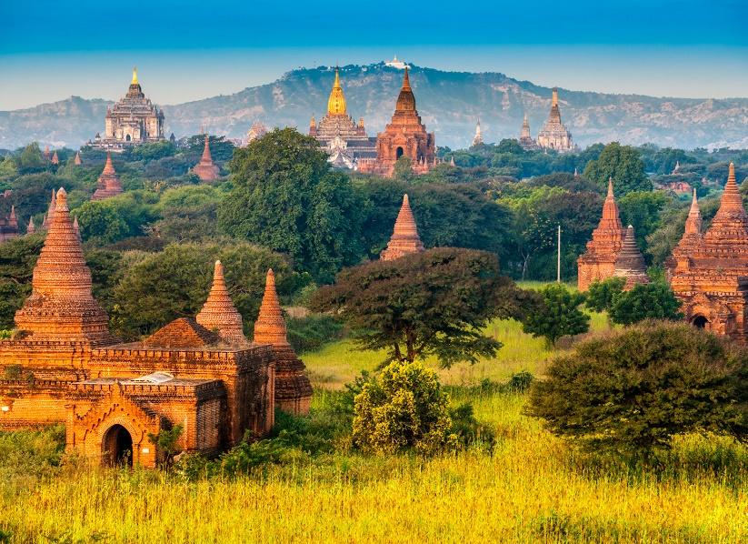 C'est le site touristique de Bagan qui a subi le plus de dégâts après le séisme en Birmanie - Photo : luciano mortula-Fotolia.com