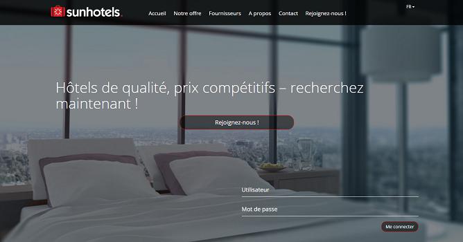 Sunhotels va gérer l'offre hôtelière de Thomas Cook - Capture d'écran
