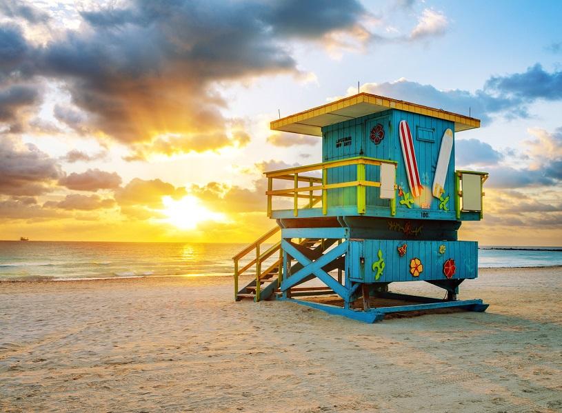 Miami est la sixième ville où Onefinestay offrira des résidences, après Londres, Paris, Rome, Los Angeles et New York (c) Fotolia : beatrice prève
