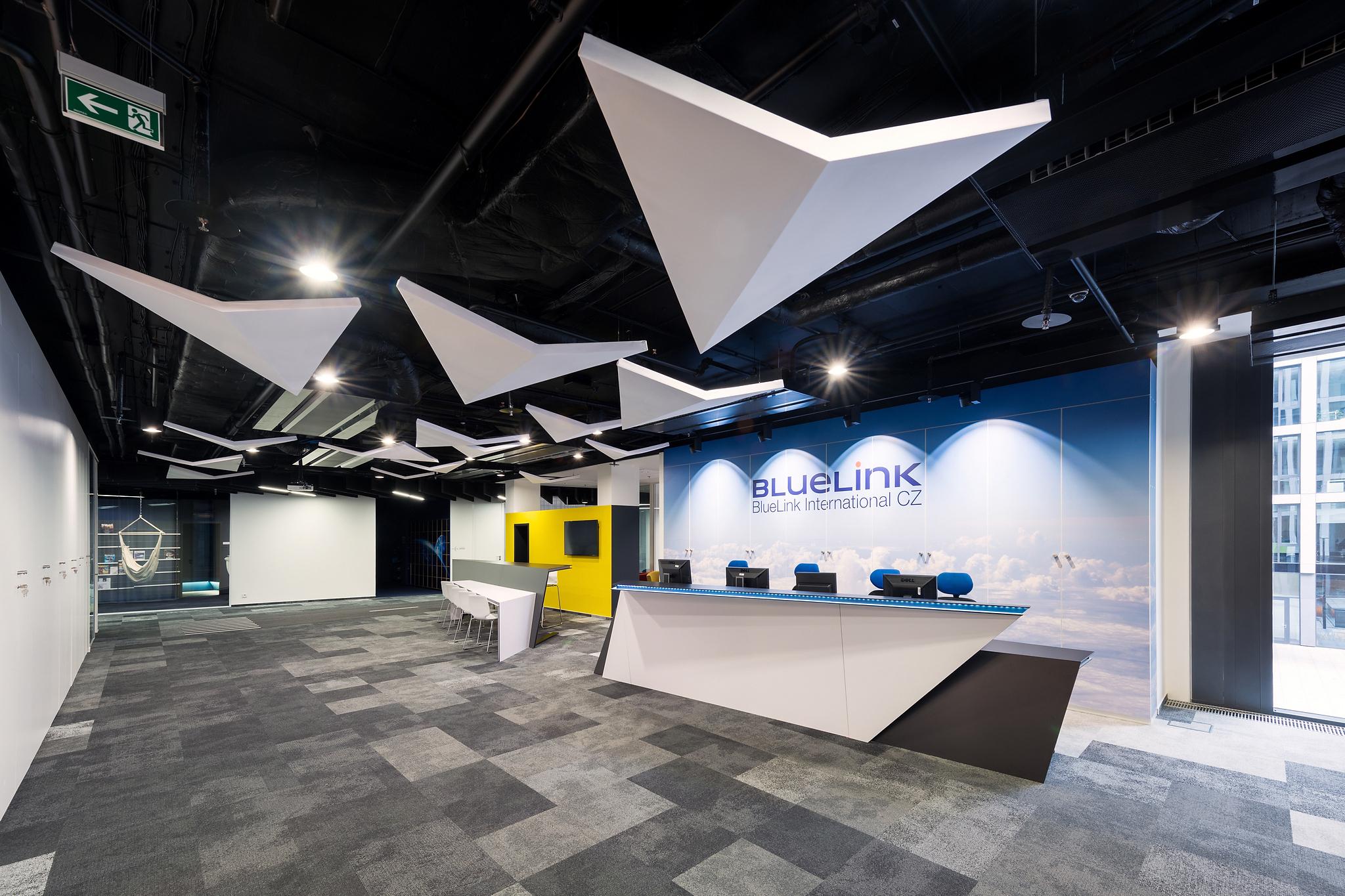 Les des locaux de BlueLink à Prague