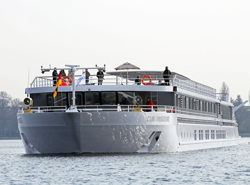 Le MS Elbe Princesse a été inauguré au printemps 2016 - DR : CroisiEurope O. Asmussen