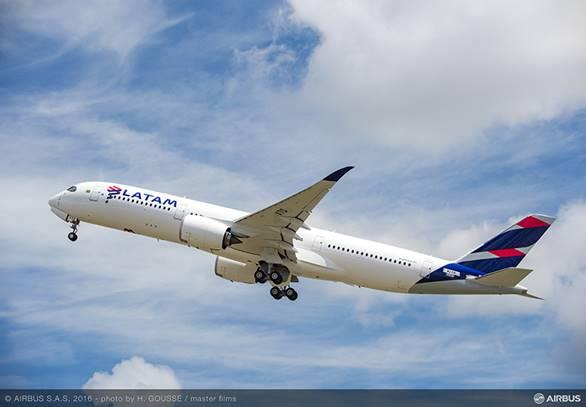 Le premier Airbus A320neo de LATAM Airlines ets arrivé à Belo Horizonte au Brésil, ce mercredi 31 août au matin - DR : Airbus