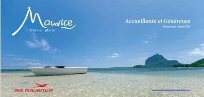 L'Ile Maurice lance une vaste campagne promo dès le 15 septembre