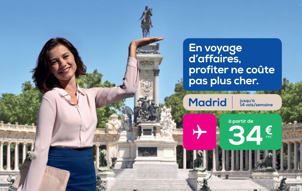 Transavia veut aussi séduire les femmes d'affaires - DR : Transavia