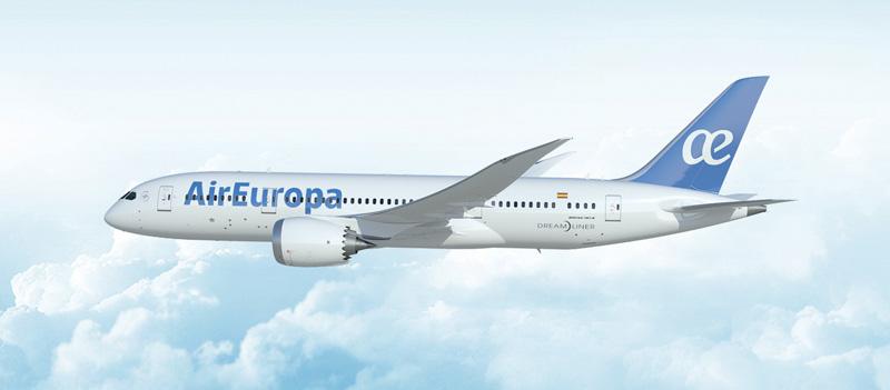Air Europa : nouvelle destination, nouvelle image et nouveaux avions