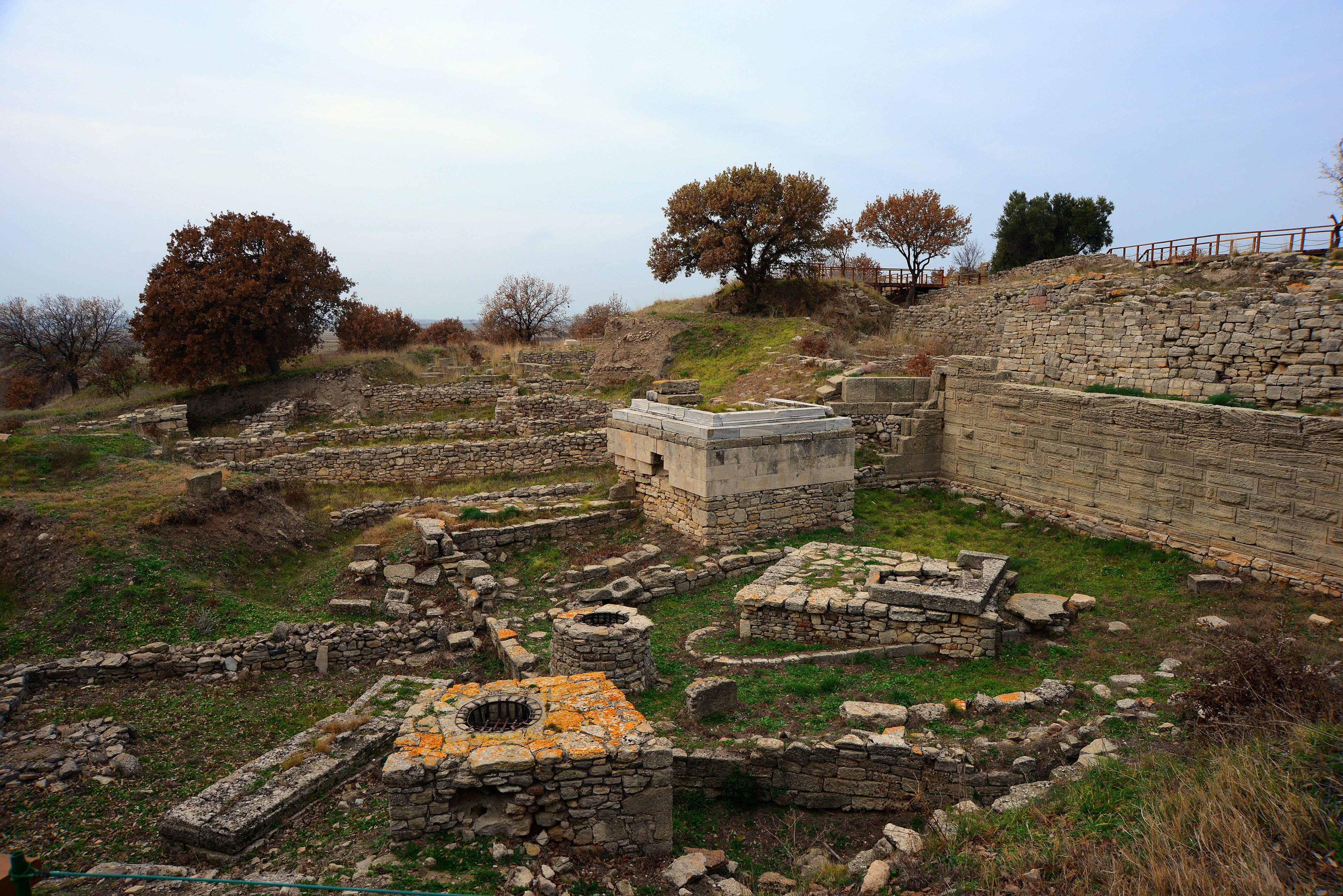 Troie dans la région de Marmara