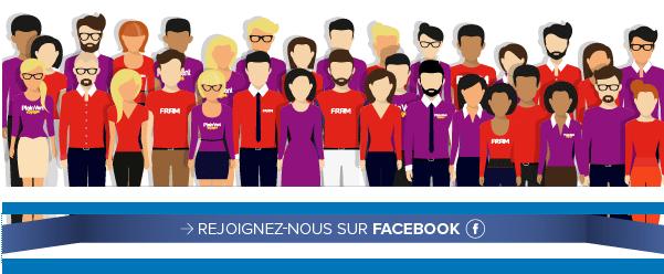 Le groupe créé sur Facebook par les commerciaux de Fram et Plein Vente - DR