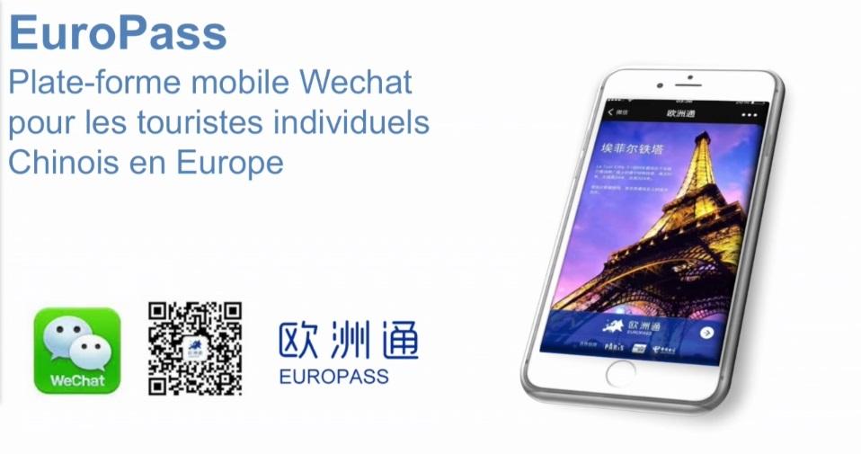 Europass, la solution Wechat pour attirer les touristes chinois