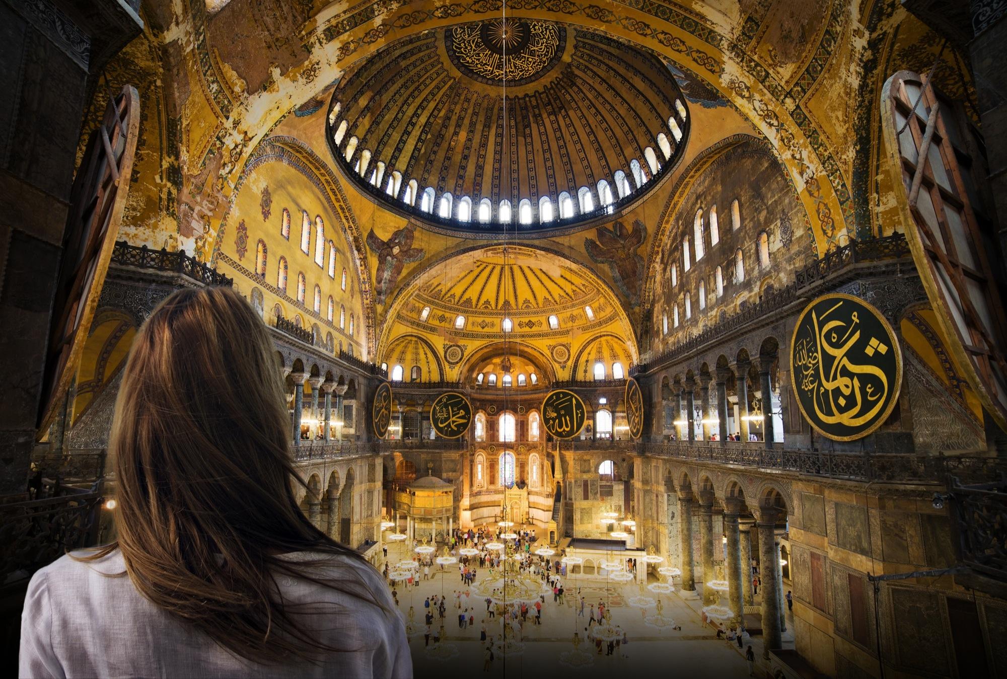 Musée Sainte-Sophie à Istanbul