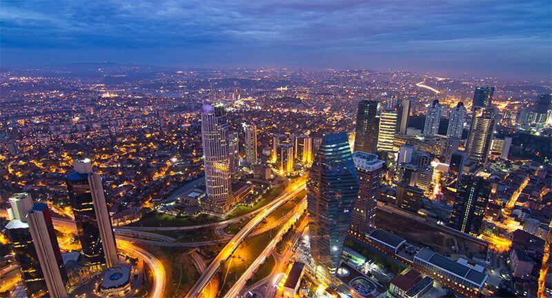 Quartier des Affaires à Istanbul