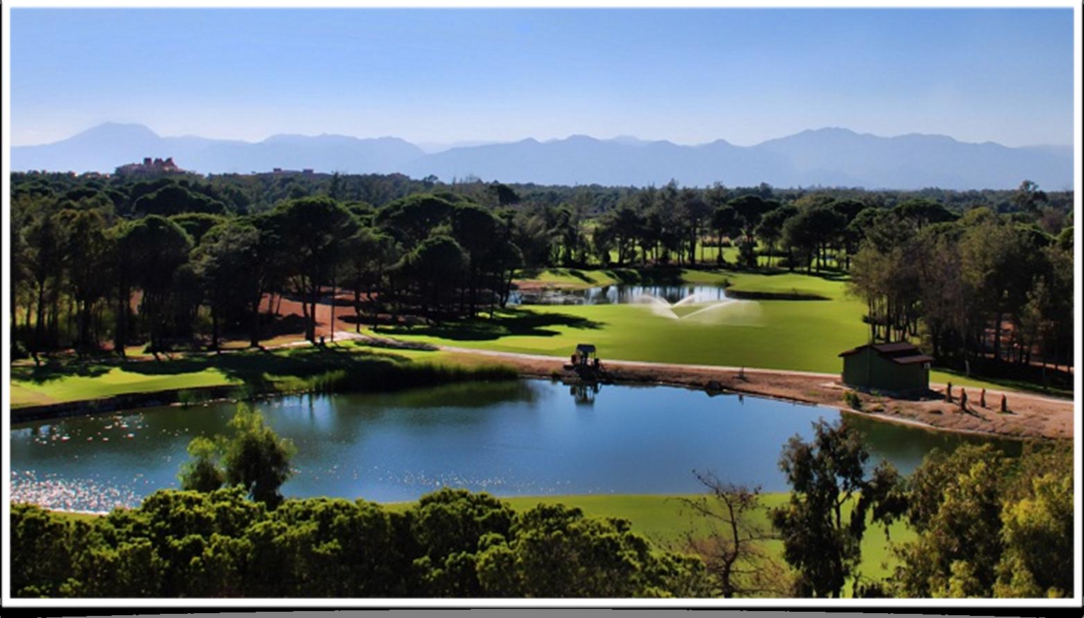 Terrain de golf à Belek
