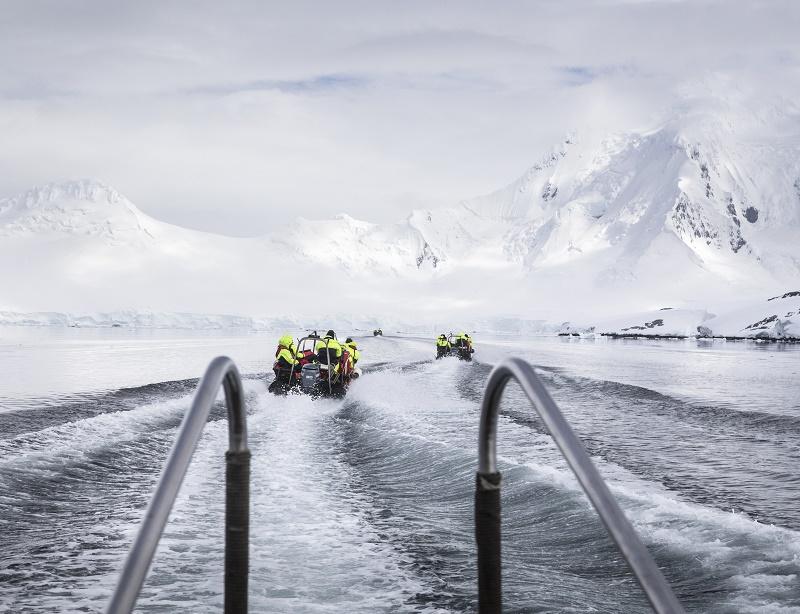 Hurtigruten souhaite naviguer dans l'Arctique et l'Antarctique à bord de bateaux d'exploration entièrement électriques - DR : Hurtigruten