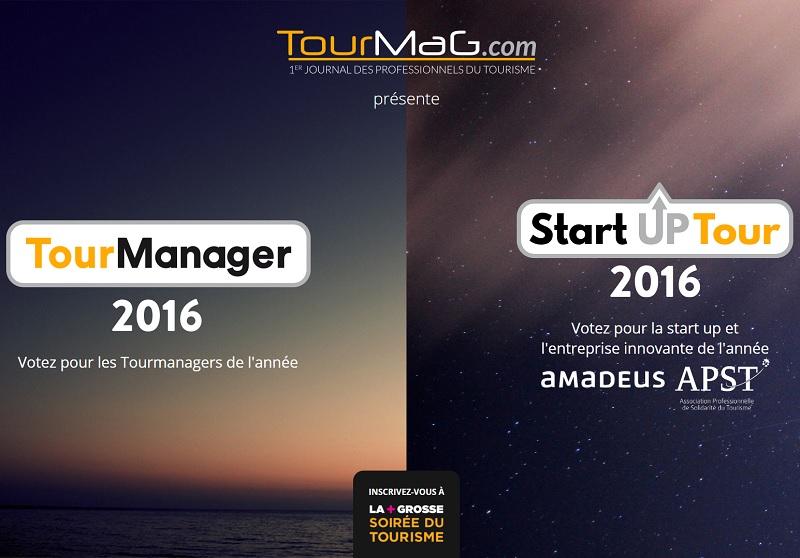 Les votes sont ouverts sur les deux sites dédiés aux votes pour élire les TourManagers et les lauréats du Start Up Tour 2016 - Capture d'écran