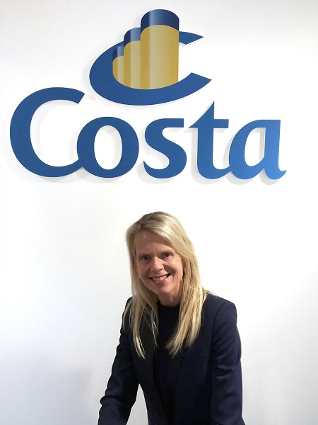 Annika Gummesson - Directrice Generale Costa Croisières France - DR