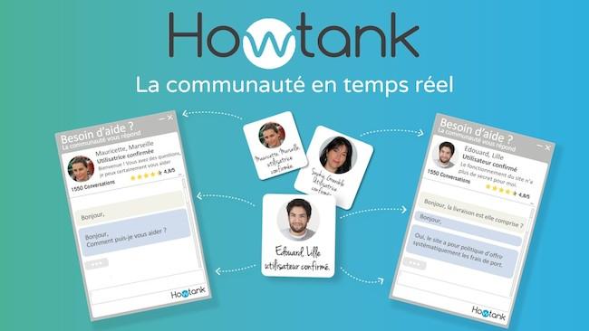 Howtank : le chat communautaire, ou l'art de faire voyager sur le web