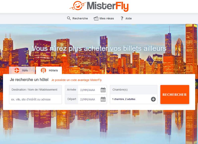 MisterFly sera présent sur l'IFTM Top Resa pour montrer les dernières fonctionnalités de l'onglet hôtels aux agents de voyages - Photo DR