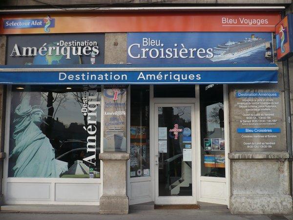 L'agence Bleu Croisières vend tout type de croisières : maritime, fluviale, location de pénichettes - DR : Bleu Voyages