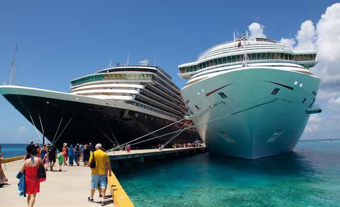 Il y aura d'un côté des paquebots géants, qui deviennent à eux seuls une véritable destination, et de l'autre, des navires à taille humaine, où l'itinéraire et les services font la différence - DR : Fotolia