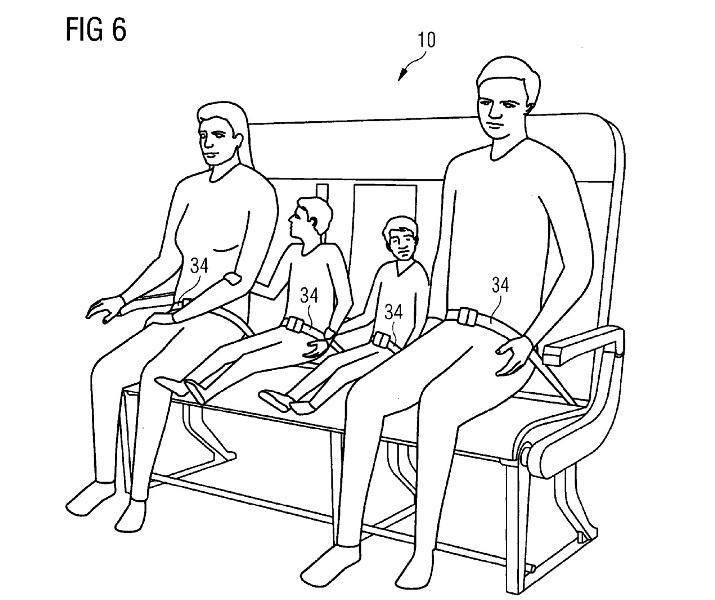 Les futurs sièges d'Airbus. DR Airbus