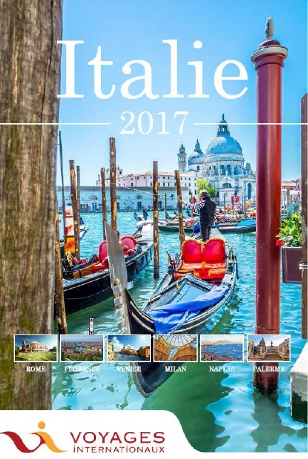La nouvelle brochure Italie Voyages Internationaux - DR