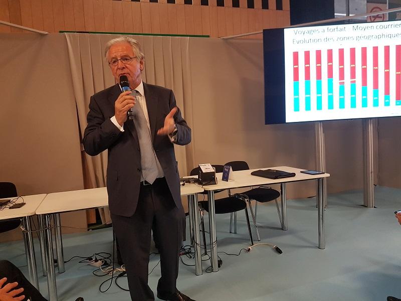 René-Marc Chikli est le président du SETO - Photo : C.E.