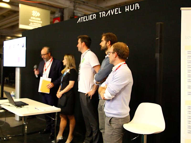 Le jury du Start-up Contest annonce le lauréat de la première journée (c) Johanna Gutkind