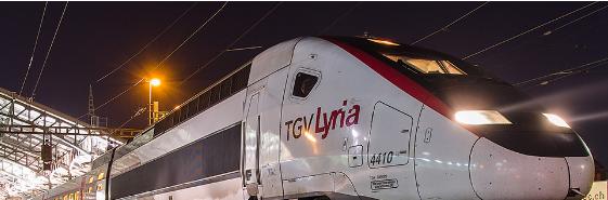 Photo : TGV Lyria
