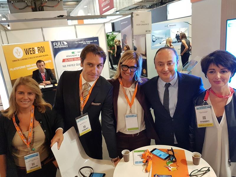 Cécile Eglessies, Rémy Pons, Laurent Abitbol, Valérie Laroche et Carole Cresson-Giraud - Photo CE