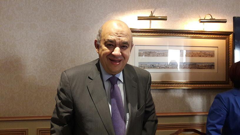 Yehia Rashed, le nouveau ministre du tourisme d'Egypte en fonctions depuis  le 22 mars 2016. Photo MS.