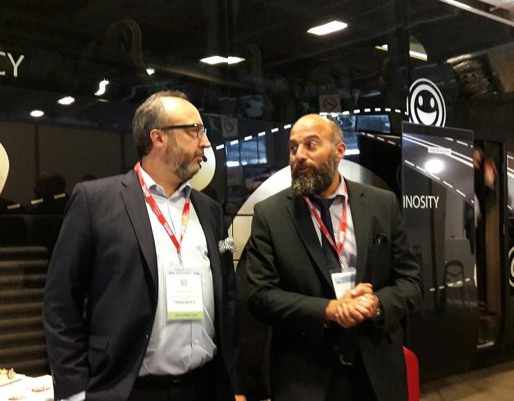 Cyril Derbier, président de la commission tourisme de la FNTV et Frédéric Lorin, directeur des salons IFTM Top Resa et Map Pro - DR : M.S.