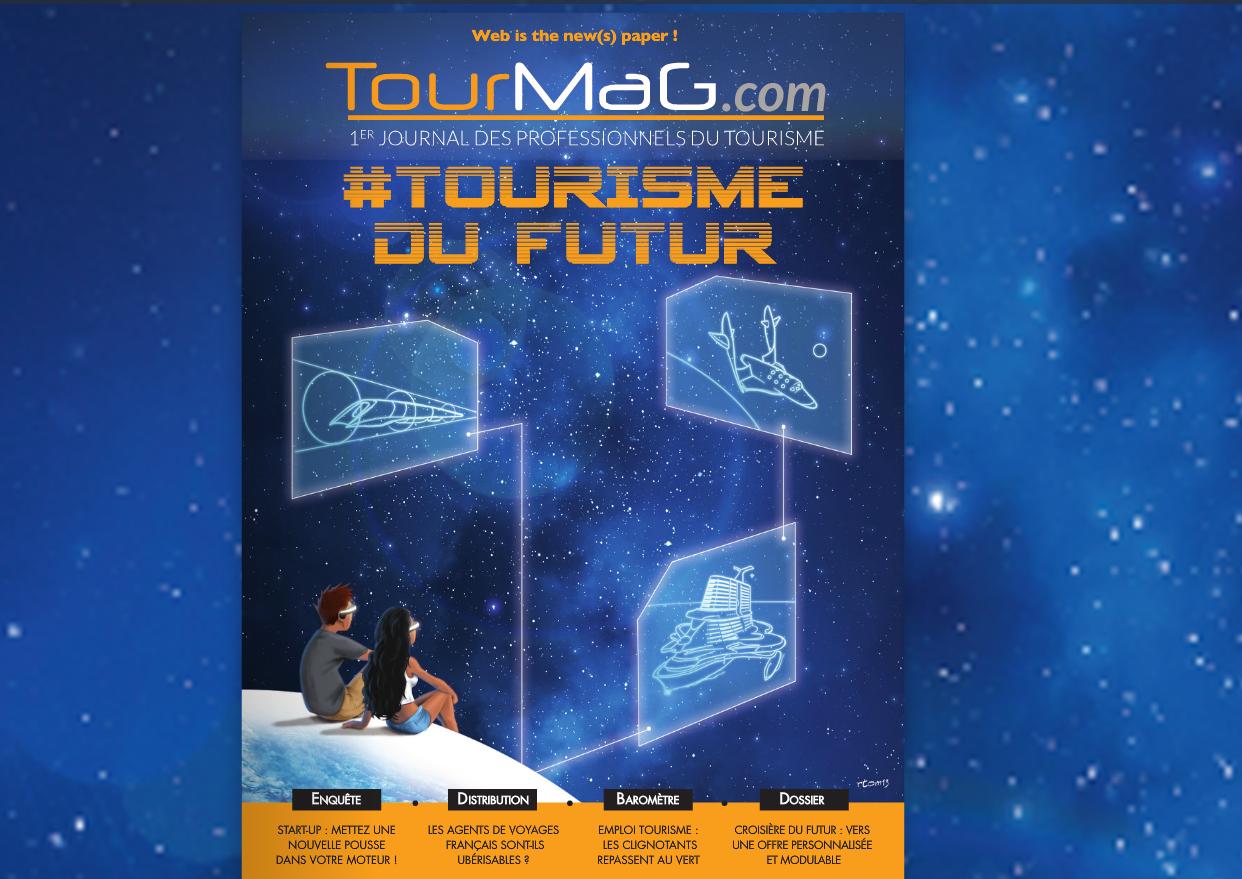 """""""Tourisme du Futur"""" : le supplément spécial papier TourMaG.com a fait un carton !"""