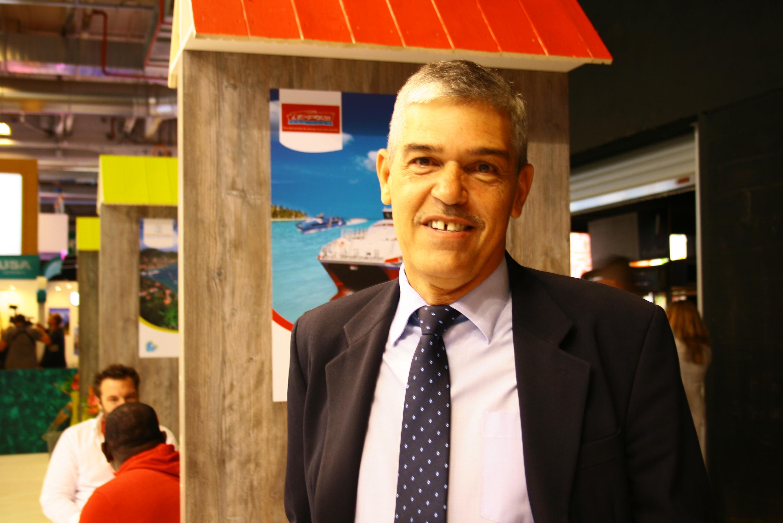 Louis Molinié, président du Comité du Tourisme des Îles de Guadeloupe - DR : HL